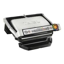 Tefal GC713D40 OptiGrill Plus Health Grill with 2000w Power in Stainless Steel