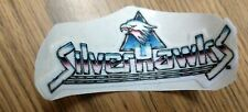 Vintage Silverhawks Cloth Sticker, MINT on Original Backing