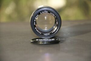 OLYMPUS E. ZUIKO 135mm. F3.5 Auto T, like new