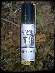 Hekate perfume oil, goddess devotional, deep mysterious scent 10ml roller bottle