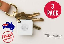 3x Tile Mate Bluetooth GPS Mini Tracking Device iPhone Android Latest 2017 Model