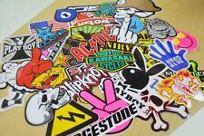 100 Stickers Bomb Motocross Motorcycle Car Music Logo Race Helmet Vinyl Decals