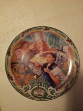 """Wizard of Oz Dorothy Musical Plate- """"Over The Rainbow�- Bradford Exchange"""