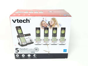 VTech CS5129-5 5-Handset DECT 6.0 Cordless Phone System With Digital Answering