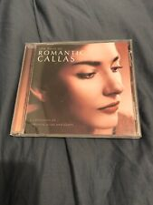THE BEST OF ROMANTIC CALLAS- (CD)