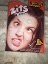 Zits EWWW Pop N Play Pimples 25 Zit Stickers 1 Tattoo