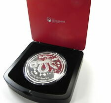 2013 YEAR OF THE SNAKE LUNAR 1 Kg PROOF Silver Coin