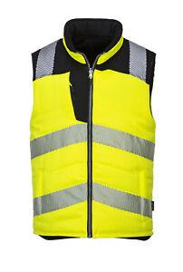 Portwest - Hi-Vis Safety Workwear Reversible Bodywarmer Vest