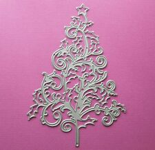 Die cutting - matrice de coupe - christmas tree orne 2 - sapin arbre Noel