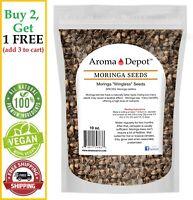10 oz. (APX 900 - 1000) Moringa Seeds Semillas de Moringa oleifera Bulk Pepa