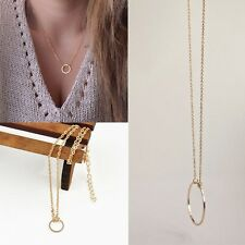 Gift Round Jewelry Chain Clavicle Necklace Pendant