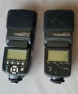 2 Yongnuo Speedlites