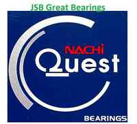 (Qty.2) 6200-2NSE9 NACHI bearing 6200-2NSE seals 6200-2RS bearings 6200 RS Japan