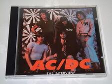 AC/DC - THE INTERVIEW (1992) RARE  - CD - CBAK 4030 - NEW