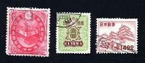 Japan 1900-56 group of stamps Mi# used