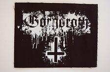 Gorgoroth Cloth Patch Black Metal Marduk Slayer Satyricon Emperor Bathory (CP235