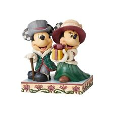 Disney Traditions Jim Shore Mickey and Minnie Victorian New 6002829