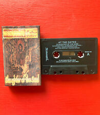 AT THE GATES on Earache —SLAUGHTER OF THE SOUL— death metal cassette tape
