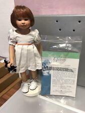 Gabriele Müller Porzellan Puppe Millie 29,5 cm. Top Zustand