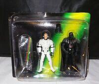 Star Wars Luke Skywalker Darth Vader Escape The Death Star Game 1998 Kenner