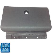 1970-72 GTO / LeMans Black Plastic Glove Box Outer Door with Hinge #1017 New