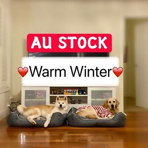 Pet Bed Mattress Dog Pad Mat Cushion Cotton Soft  Large Washable Heavy Duty