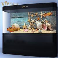 Starfish HD Aquarium Background Poster Fish Tank Decorations Landscape