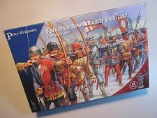 Perry Miniatures WR01 War of the Roses Infantry 1455-1487 - PLASTIC BOX SET