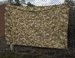 Basha Shelter Sheet BTP MTP Style Camping Tarp Sheet Bivi Tent X1 & X4 Bungees