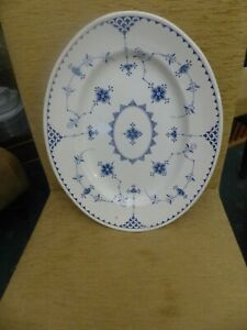 Vintage DENMARK  Large OVAL Platter  in Clean & EXCELLENT CONDI.14 by 11 inches.