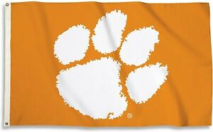 Clemson Tigers LOGO Premium 3x5 Flag w/grommets Outdoor House Banner University