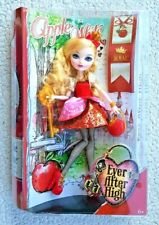 EVER AFTER HIGH DOLL: APPLE WHITE, HIJA BLANCANIEVES. MUÑECA DOLL NUEVA EN CAJA!