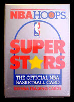 1989/90 Hoops ~ NBA SUPER STARS SET ~ SOLD AT SEARS ~ YELLOW JORDAN, MAGlC, BlRD