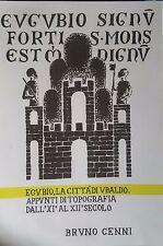 Eugubio,la città di Ubaldo topografia dall' XI al XII secolo di Bruno Cenni