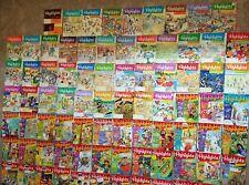 Lot 81 Highlights kids Kid Magazine teacher library school home homeschool class
