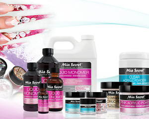 MIA SECRET ACRYLIC POWDER & MONOMER SET - CHOOSE YOUR COLOR & SIZE