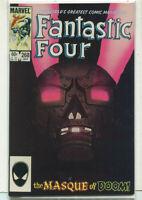 """Fantastic Four #268 NM """"The Masque Of Doom""""  Marvel Comics CBX14A"""