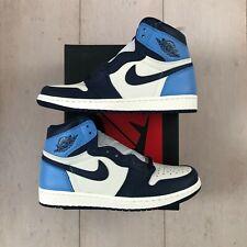 Nike Air Jordan 1 Retro High Obsidian UNC University Blue (555088-140)