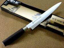 "Japanese Satake Masamune Kitchen Sashimi Yanagiba Knife 210mm 8.1"" SEKI"