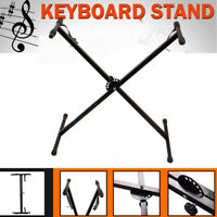 Adjustable Portable X Stand for Electronic Keyboard Folding Music Piano Holder