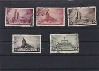 RUSSIA  MOUNTED MINT OR USED STAMPS ON  STOCK CARD  REF R1012