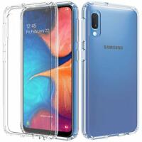 For Samsung Galaxy A10e Shockproof Clear Thin Rubber Phone Case Cover