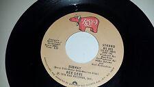 "Bee Gees Subway / You Should Be Dancing Rso 853 45 Vinyl Record 7"""