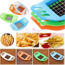 French Fries Potato Chip Chipper Cut Cutter Vegetable Fruit Slicer Maker TT