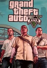 GRAND THEFT AUTO V GTA MICHAEL TREVOR MOVIE A4 POSTER PICTURE PRINT A4 WALL ART