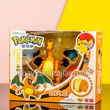 Pokemon Charizard Action Figure Pokeball Deformation Toy Gift Doll