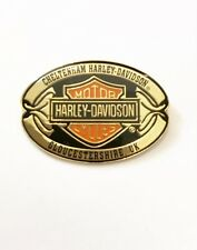 Genuine Harley-Davidson Cheltenham Dealer Collectable Pin Badge * IDEAL GIFT *