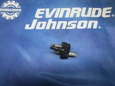 JOHNSON EVINRUDE FUEL LINE HOSE CONNECTOR @ LOWER MOTOR PAN 376154 - 393334