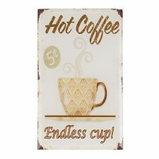 Imagen HOT café 10 x 17 NUEVO clayre & eef Café Vintage Retro Shabby