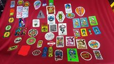 Vintage original 80's skateboard stickers, Powell, Santa Cruz, Vision, etc